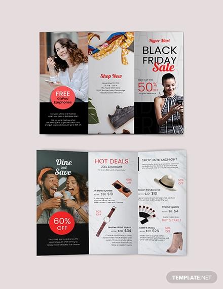 black friday brochure