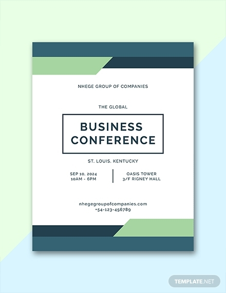 business conference program