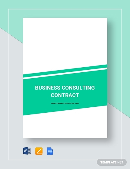 business consulting contract