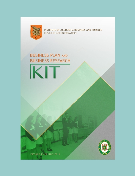 business plan and business research kit