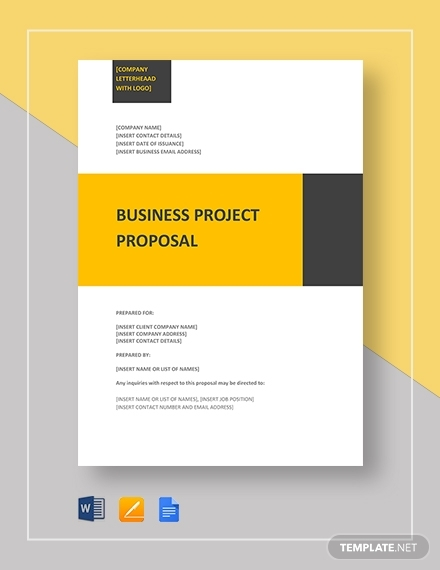 business project proposal