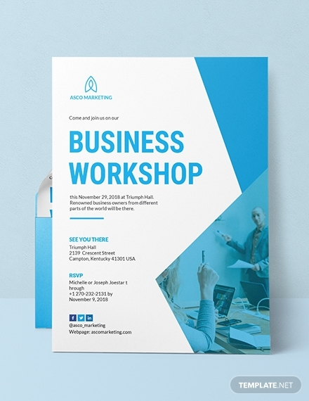 business workshop invitation