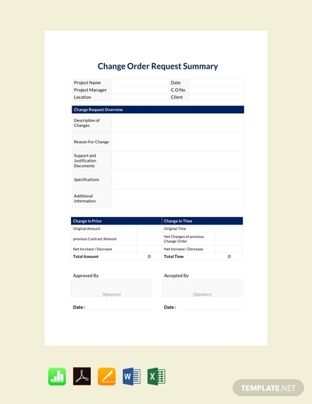 change order request summary1