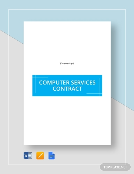 computer service contract