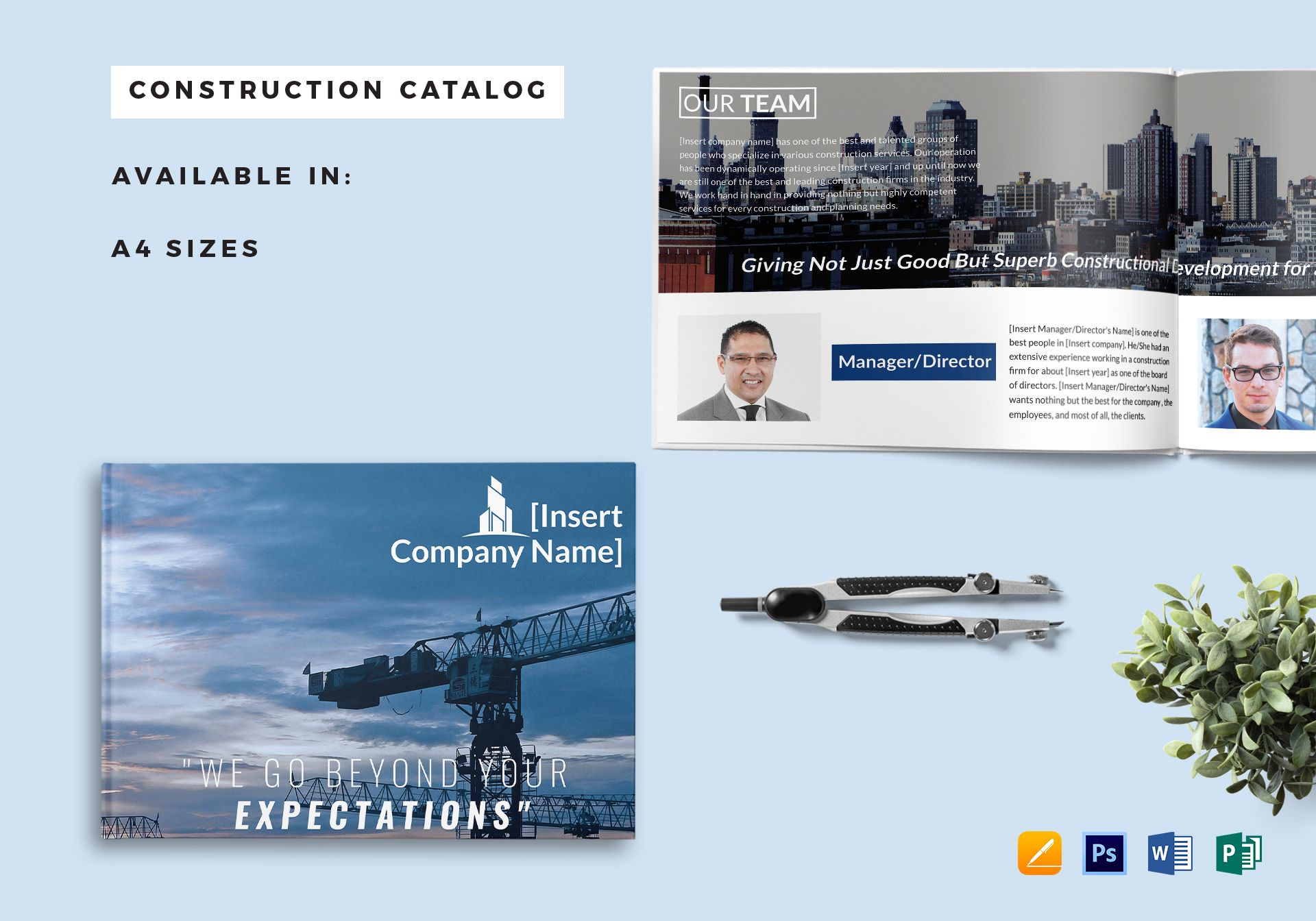 construction company catalog