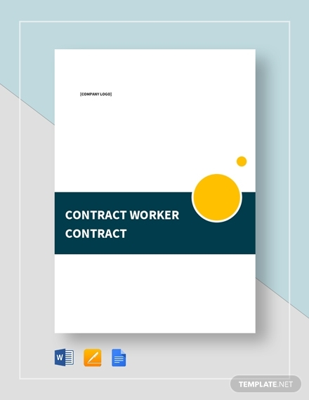 contract worker contract