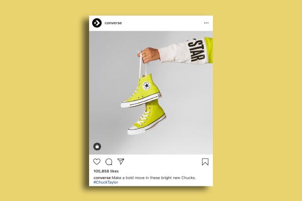 converse instagram ad