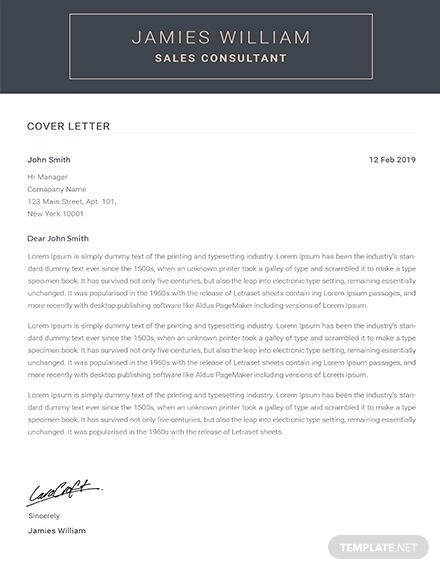 creative sales consultant cv sample