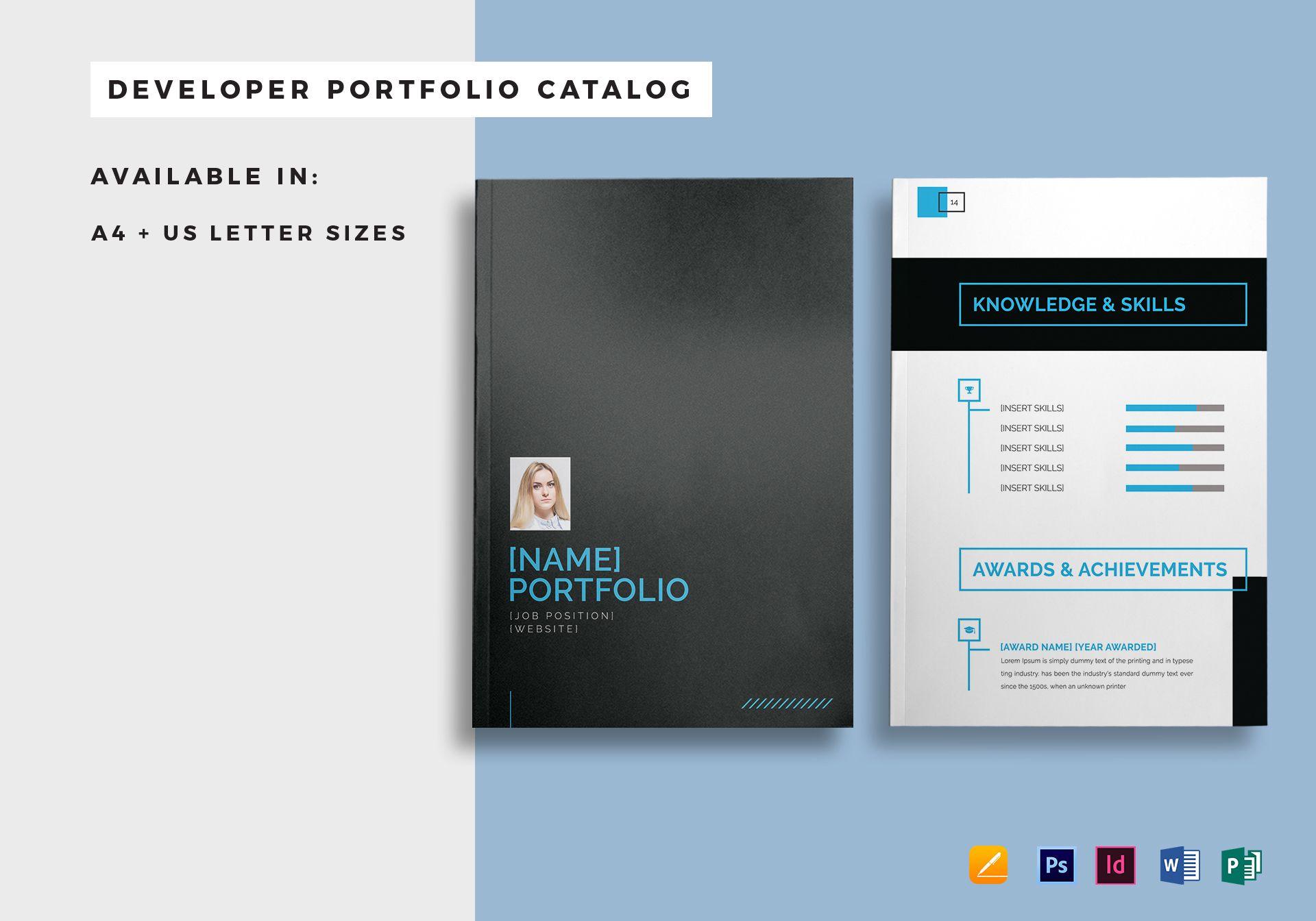 developer portfolio catalog
