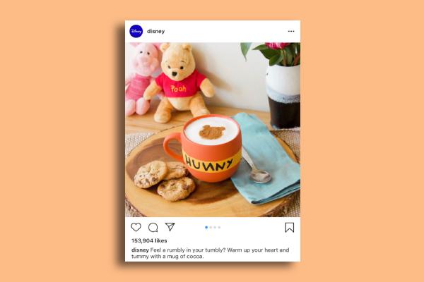 disney instagram ad