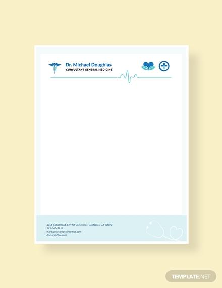 doctor letterhead format1