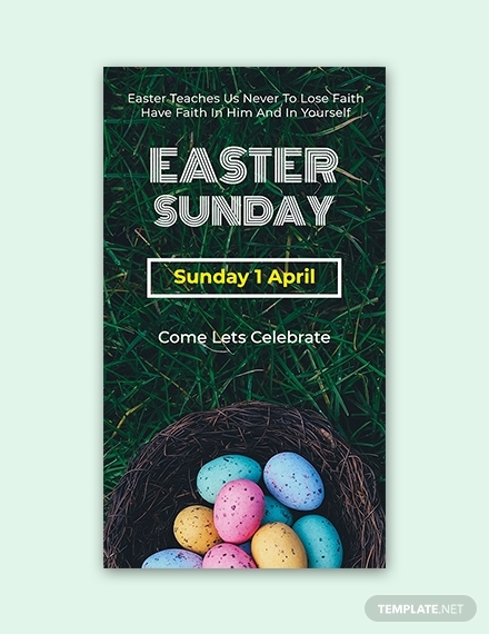 easter sunday snapchat geofilters sample