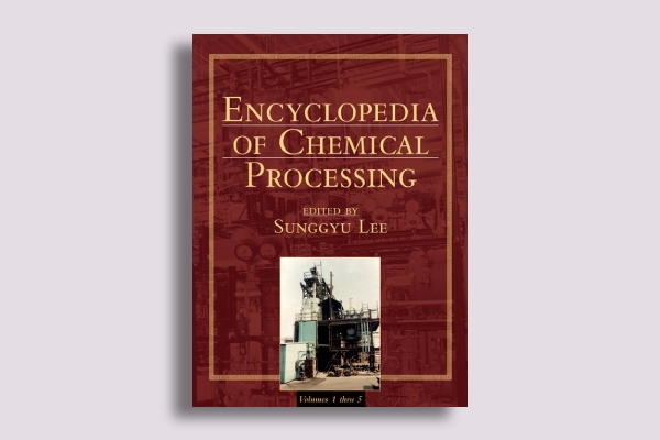 encyclopedia of chemical processing book cover