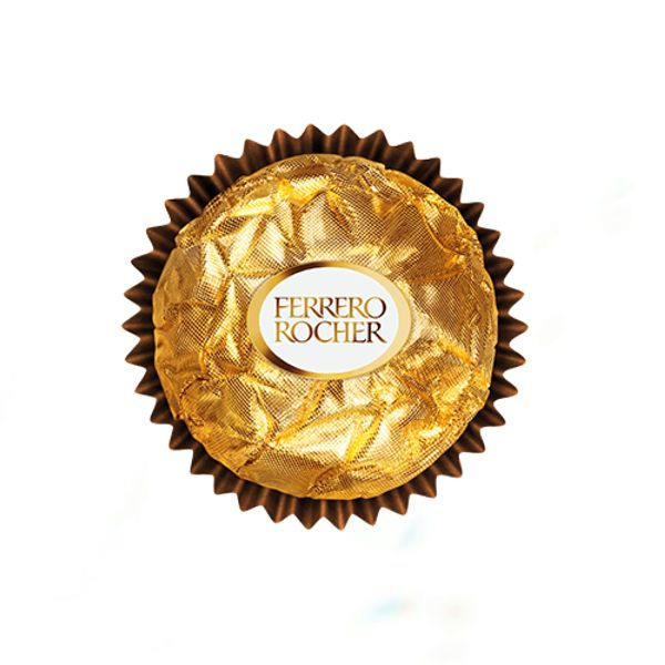ferrero rocher chocolate label