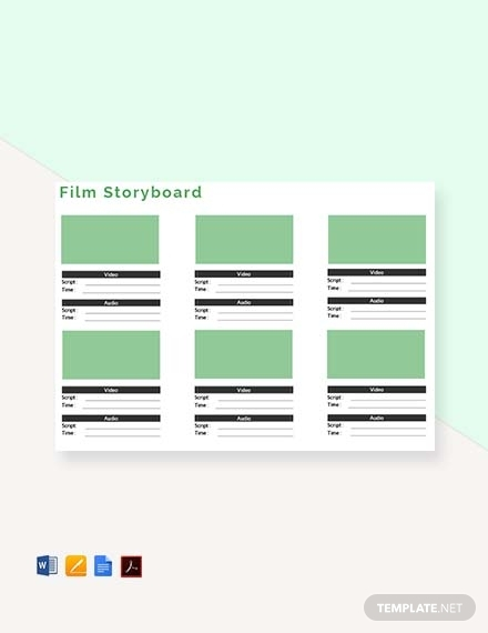 film storyboard outline