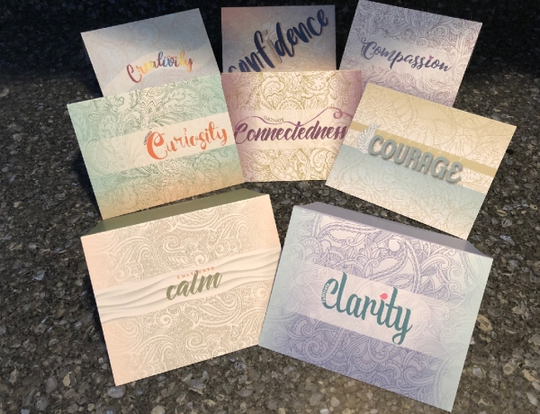 foundation for self leadership greeting cards