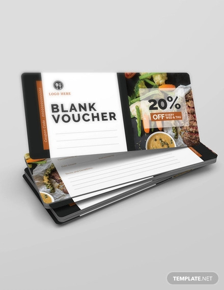 free blank voucher
