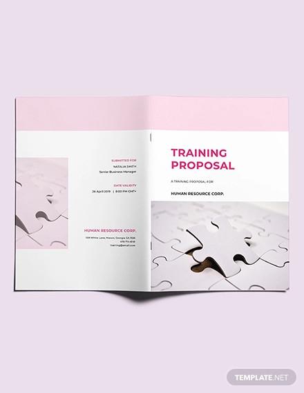 free training proposal template