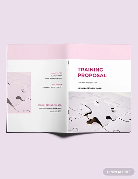 free training proposal template2