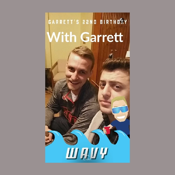 friends birthday snapchat filter