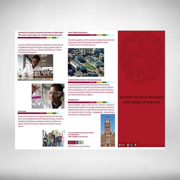 harvard medical school brochure