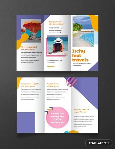 holiday travel brochure1