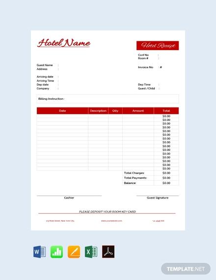 hotel receipt1