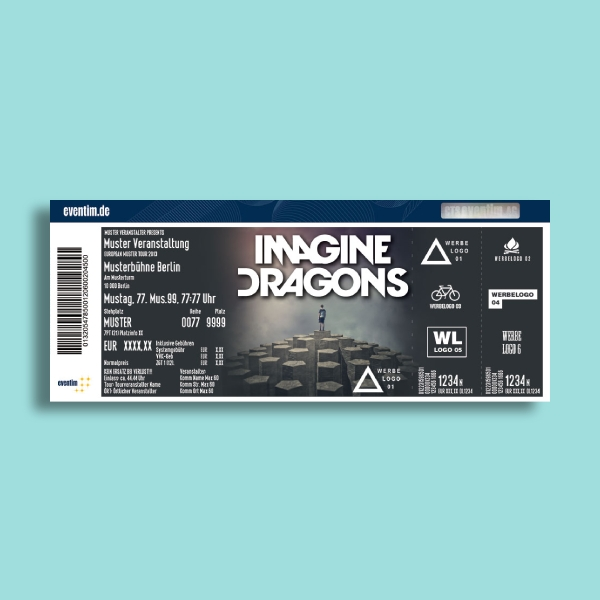 imagine dragons concert ticket