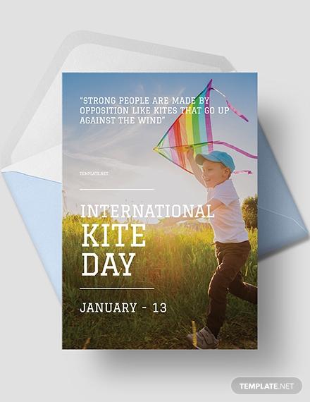 international kites day greeting card1