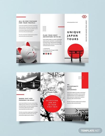 japan travel brochure