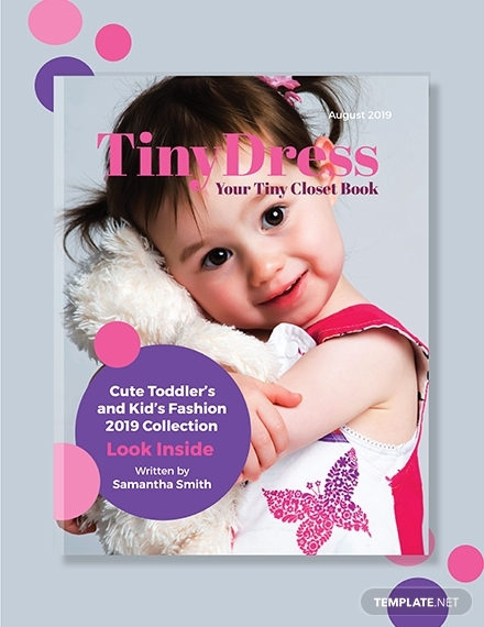 kids fashion book cover