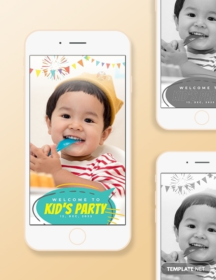 kids party snapchat geofilters