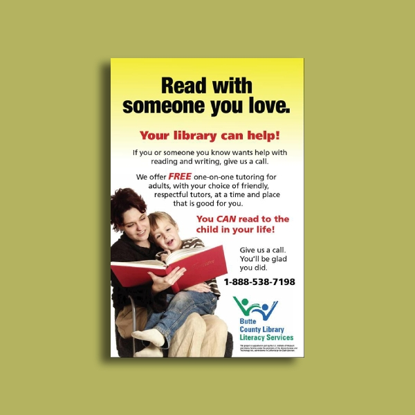 library literacy flyer