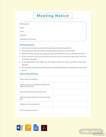 meeting notice1