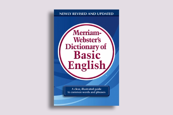 merriam websters dictionary book cover