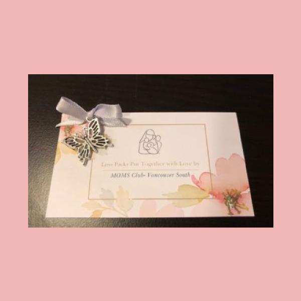 moms club greeting card