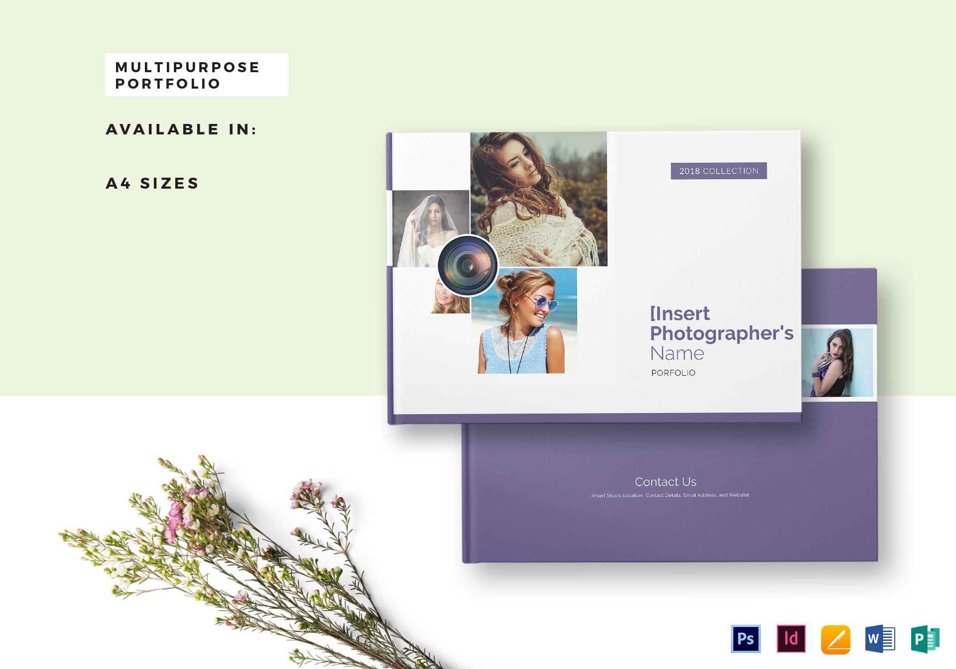 multipurpose portfolio catalog