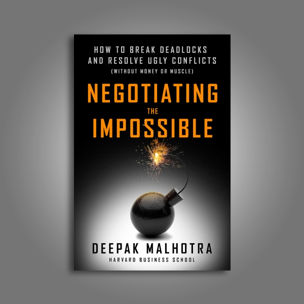 negotiating the impossible book cover
