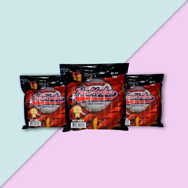 new yorker virginia hotdog label