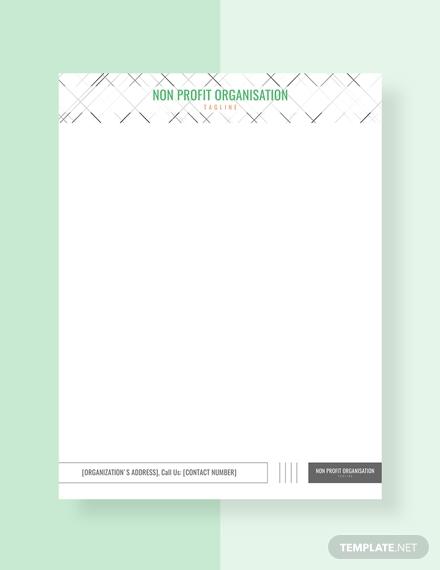 non profit organization letterhead1