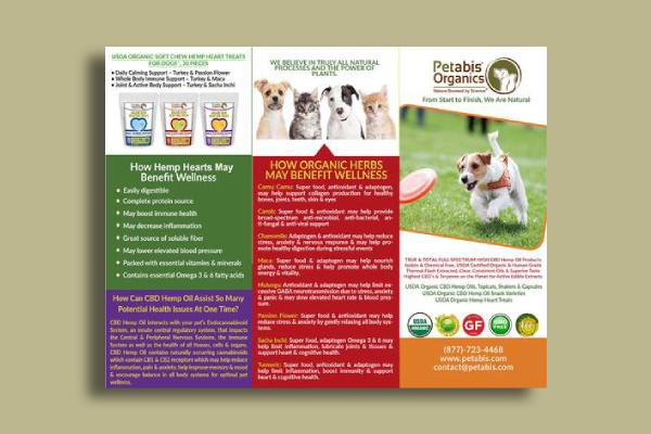 petabis organics brochure