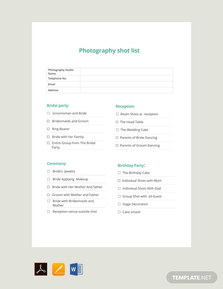 photography shot list1