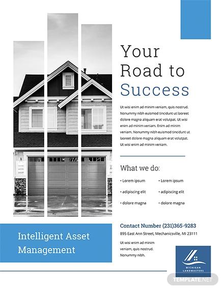 property management flyer