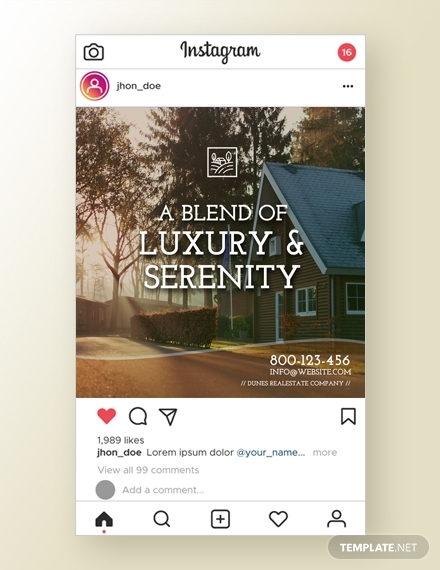 real estate instagram ad1