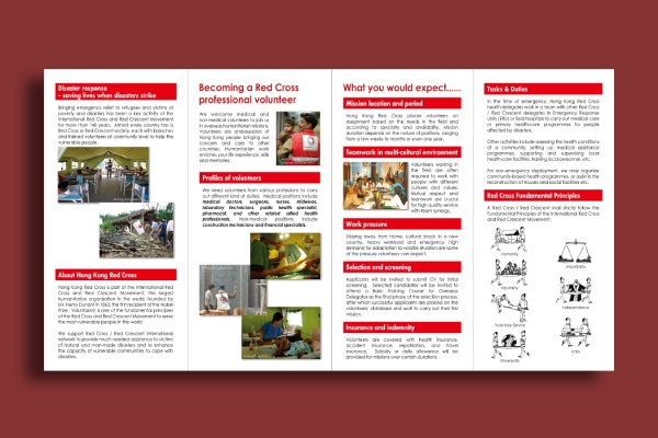 red cross mission brochure