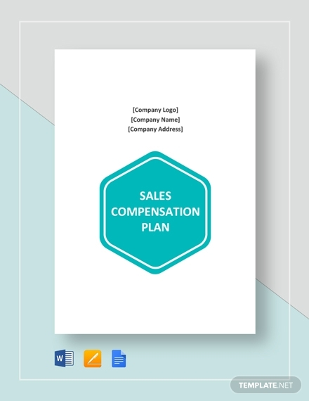 sales compensation plan template