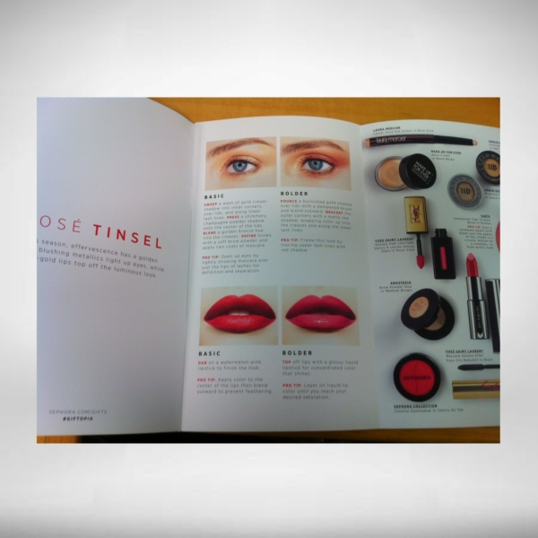 sephora brochure