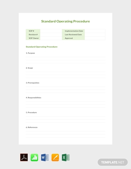 simple sop note template1