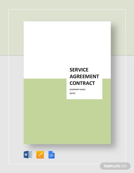 simple service agreement contract
