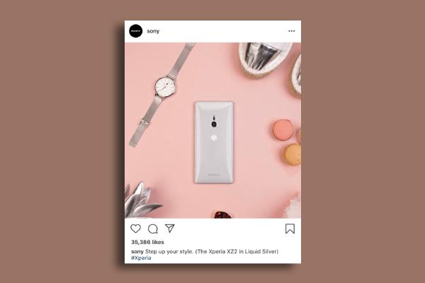 sony instagram ad